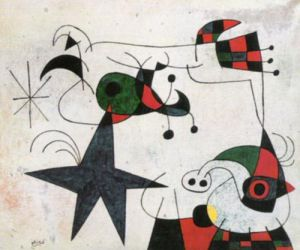 Rytme du Passage du Serpent by Joan Miro