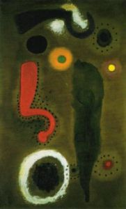 Bird in a Room by Joan Miro