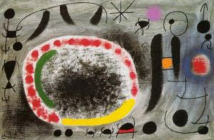 Love Song of Birds by Joan Miro