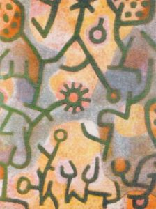 Plants on Rocks, 1940 by Paul Klee