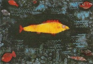 The Golden Fish by Paul Klee