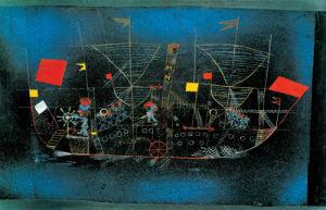 Abenteuer - Schiff, 1927 by Paul Klee