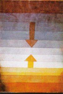 Scheidung Abends, 1922 by Paul Klee