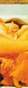 Flaming June (detail) by Lord Frederic Leighton