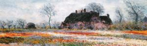 Tulip Fields at Sassenheim (detail) by Claude Monet