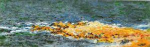 La Grande Bleue a Antibes, 1888 (detail) by Claude Monet