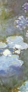 Waterlilies and Agapanthus, 1914 (detail) by Claude Monet