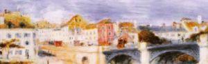 Le Pont a Chatu (detail) by Pierre Auguste Renoir