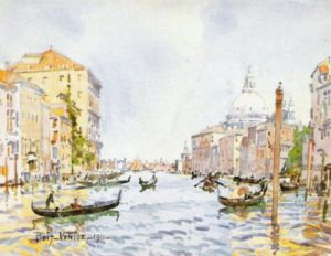 Venice: Afternoon on the Grand Canal by Edward Darley Boit