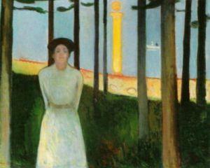 Summer Night's Dream by Edvard Munch