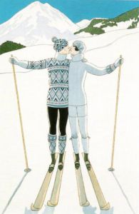 L'Hiver by Georges Barbier