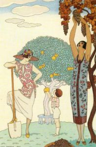 La Terre by Georges Barbier