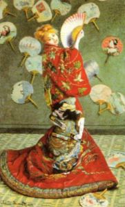 La Japonaise by Claude Monet