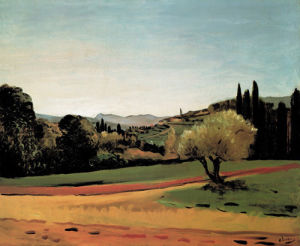 Landscape in Southern France by André Derain