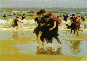 At the Seaside, 1905 by Edward Henry Potthast