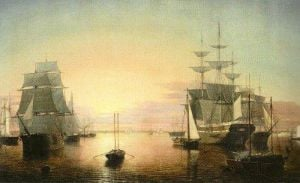 Boston Harbour by Fitz Hugh Lane