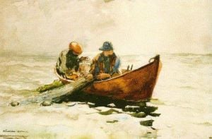 The Dory by Winslow Homer