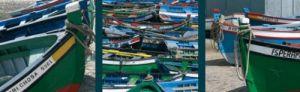 Barques de Pêche au Portugal by Laurent Pinsard