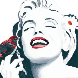 Marilyn Monroe by Irene Celic