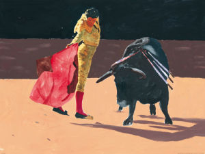 Bullfight II by Irene Celic