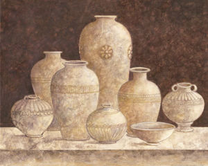 Pottery I by G.P. Mepas