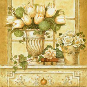 Floral Deco II by Hervé Libaud