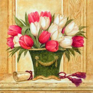 Floral Deco IV by Hervé Libaud