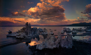 Tufas In Mono Lake, California by Art Wolfe
