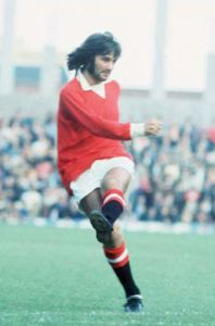 George Best 1971 Manchester United by Mirrorpix
