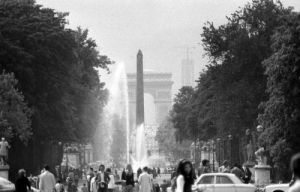 Arc de Triomphe - June 1972 by Mirrorpix