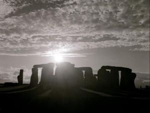 Stonehenge in Wiltshire, England by Mirrorpix