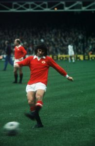 George Best Manchester United, 1972 by Mirrorpix