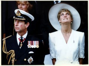 Prince Charles and Diana, Princess of Wales by Mirrorpix
