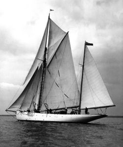 Moyana in the Solent, 1948 by Mirrorpix