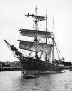 Danish Barque, 1939 by Mirrorpix