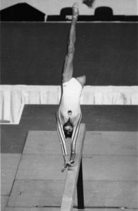Olympic Games 1976: Romanian gymnast Nadia Comaneci by Mirrorpix