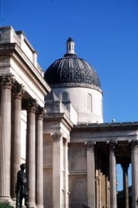 National Gallery in London by Mirrorpix