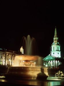 Trafalgar Square, London by Mirrorpix