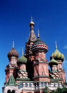 St Basils Cathedral, Moscow by Mirrorpix