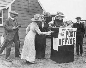 Aviation Air Mail, 1911 by Mirrorpix