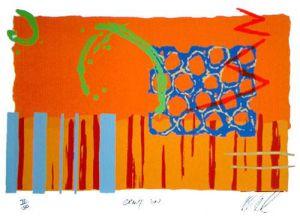 Orange Sun by Lee Crew