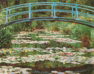 Japanese Bridge by Claude Monet