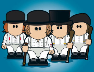 Alex & the Droogs by Weenicons