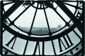 Clockface at the Museum of Orsay by Christian Peacock