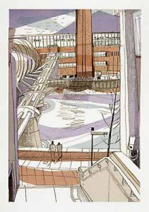 Millennium Bridge - Tate Modern by Mark Raggett