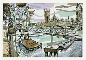 London Eye - Westminster by Mark Raggett