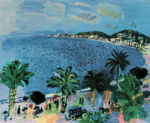 The Bay Of Angels, Nice, 1929 by Raoul Dufy