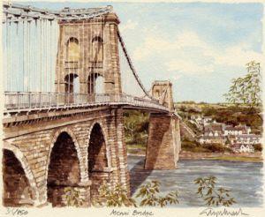 Menai Bridge by Glyn Martin