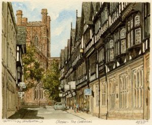 Chester - Cathedral by Philip Martin
