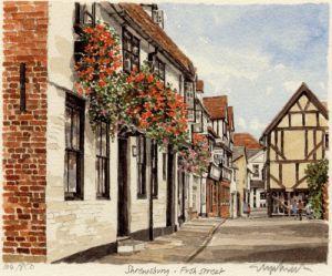 Shrewsbury - Fish Street by Glyn Martin